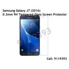 (TJ76) Samsung Galaxy J7 / 2016 0.3mm Tempered Glass screen protector 9119393