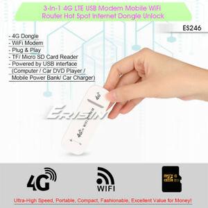 4G USB Modem with wifi-Hotspot (Ooredoo/Dhiraagu)=790/- for call
